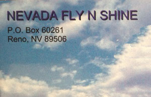 Nevada Fly N Shine, Aircraft Detailing and Polishing in Northern Nevada.