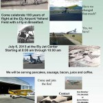 Celebrate 100-Years of Flight at Ely, NV July 6, 2013