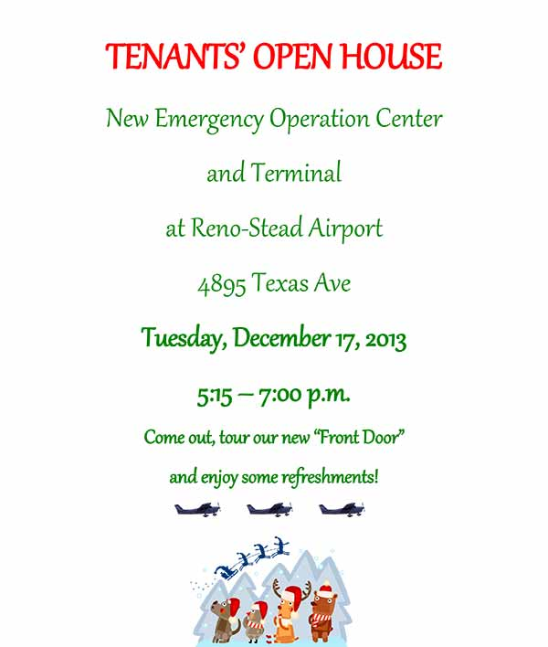 stead tenant open house
