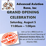 Grand Opening of Advanced Aviation Reno