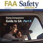 The March-April Issue of FAA Safety Briefing Magazine is Available.