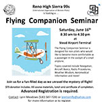 99s Flying Companion Seminar at Stead