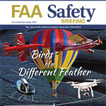 Nov/Dec Issue of FAA Safety Briefing Magazine is Available