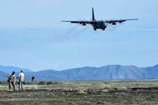 C-130 Landing