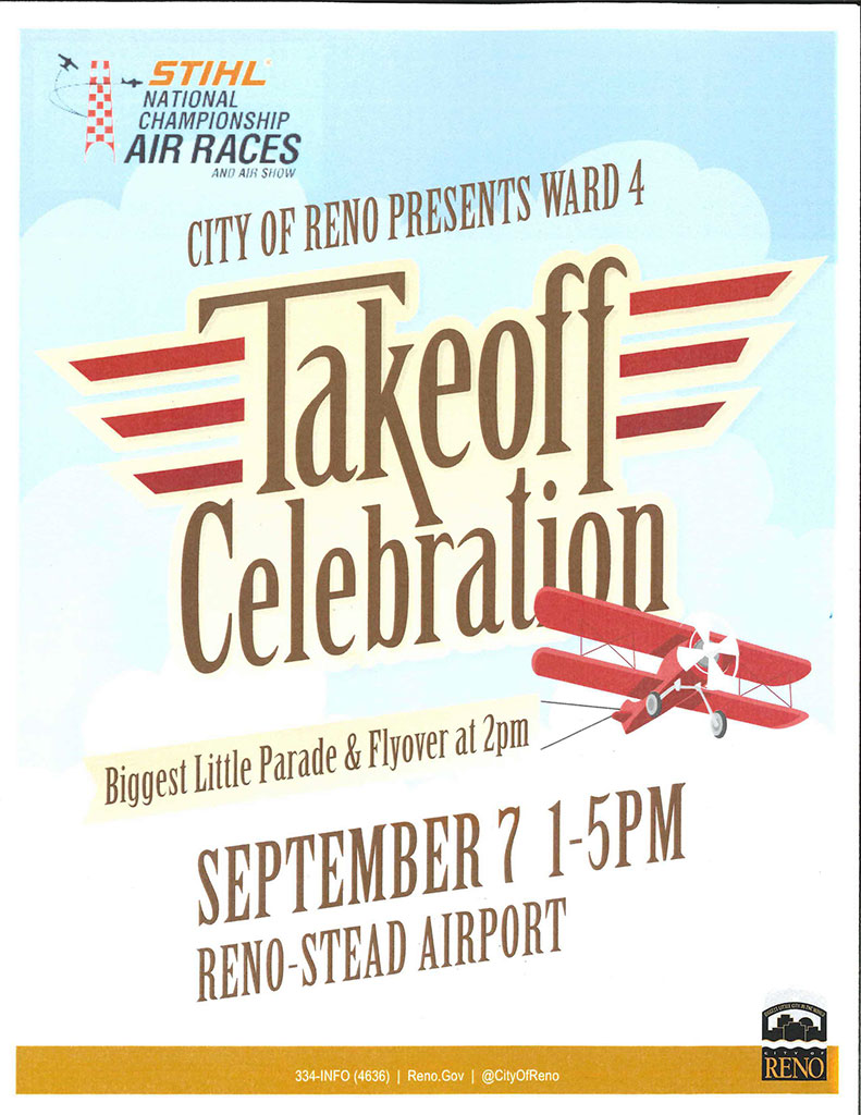 Ward 4 Takeoff Celebration 2019