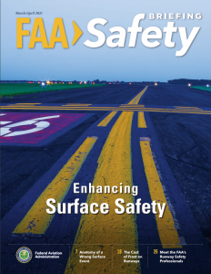 March/April issue of FAA Safety Briefing Magazine.