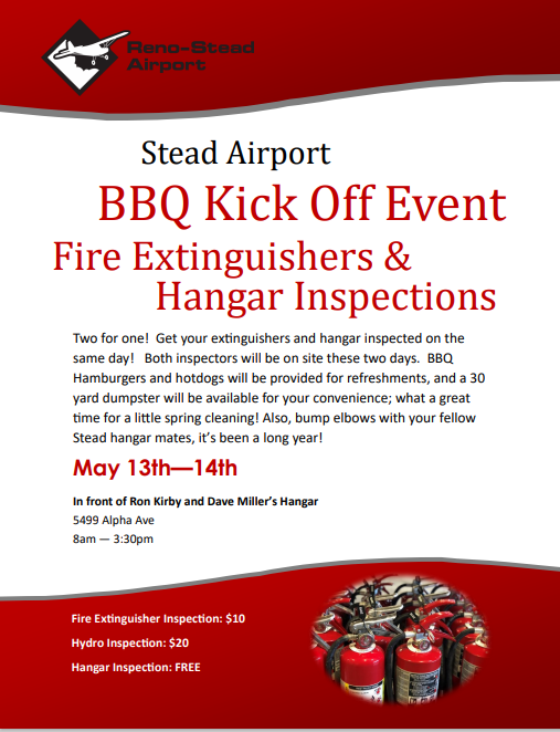 Stead Airport Manager's BBQ