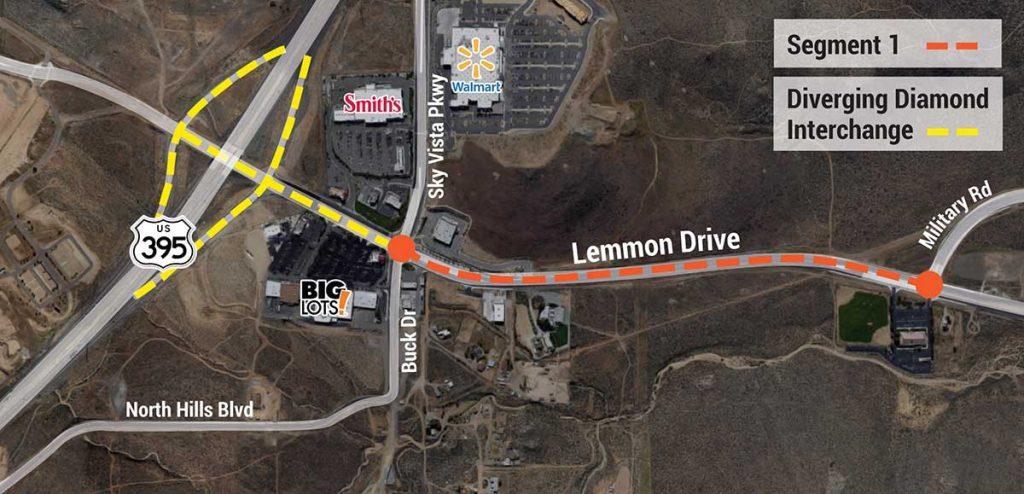 Construction on Lemon Drive